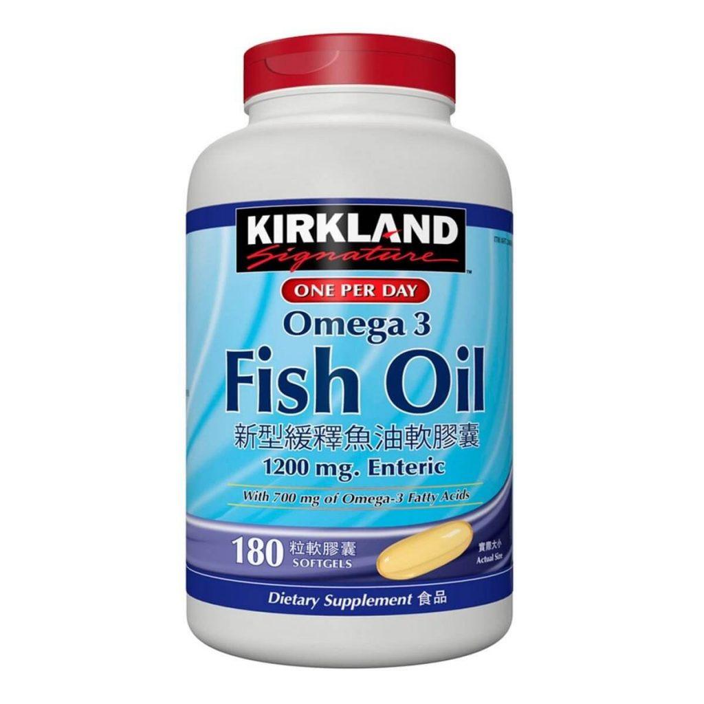 科克蘭緩釋型魚油推薦